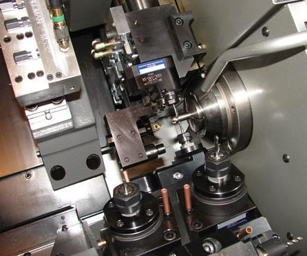 Overall of pinch milling on screw machine