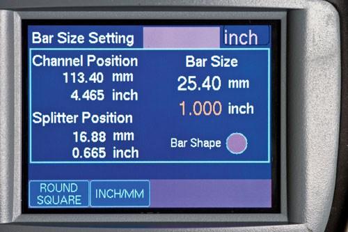 ATS Handheld Control Screen