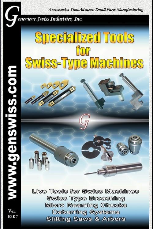 Swiss-type machines catalog