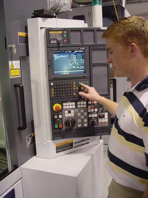 operator at CNC