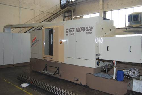 TMZ867 multi-spindle from ZPS America.