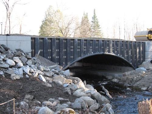 Finished arches bridge