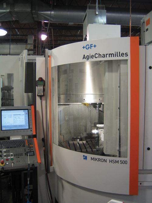 Mikron HSM500