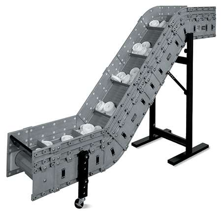 Modular, reconfigurable conveyor from Dynamic Conveyor.