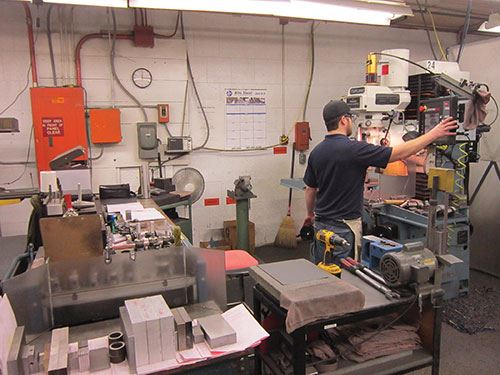 Sam Handy, toolroom machinist