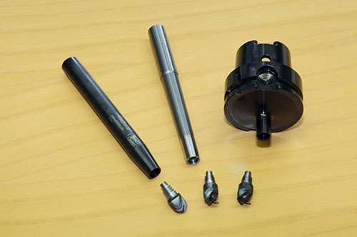 Prototyp ConeFit mills and toolholders