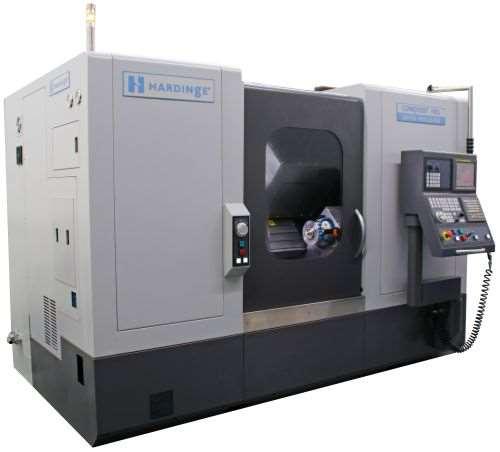 Hardinge Conquest H51 bar and chucking machine