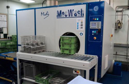 MecWash Midi cleaning system
