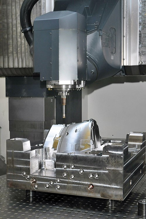five axis cutting