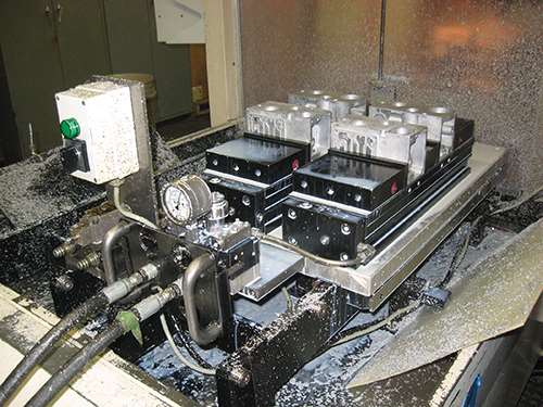 machine with a servomotor