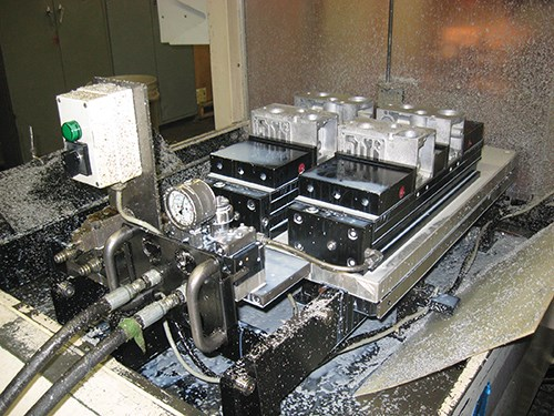 machine with a servomotor
