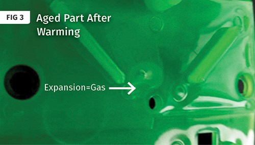 how to get rid of gas bubbles
