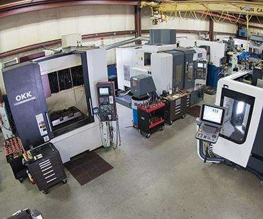legacy's machining center