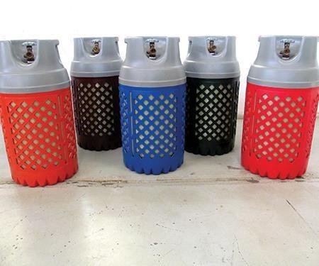 Type IV LPG gas cylinders
