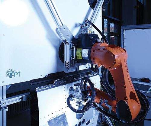 mobile robotic repair system