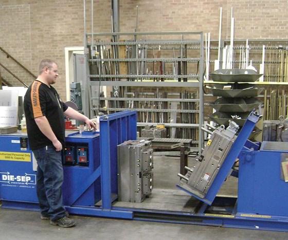 die-sep mold separator