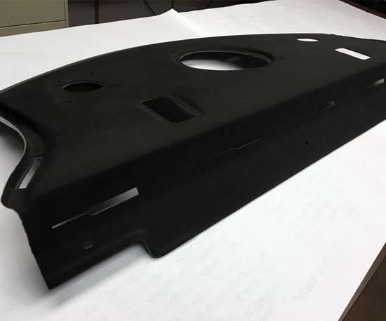 automotive package tray
