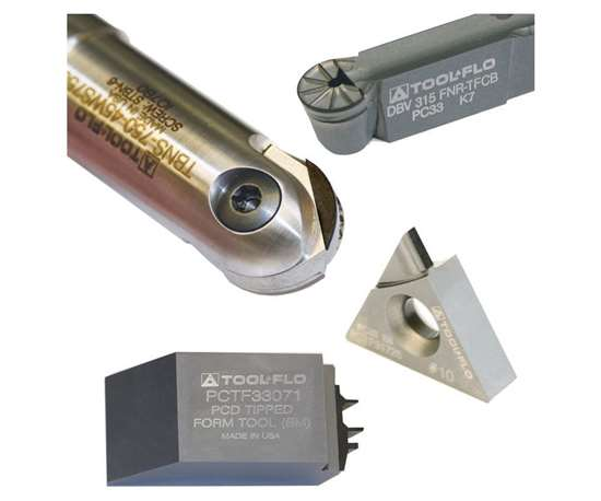 laser cut pcd inserts