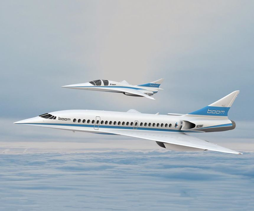 Boom Technology's planned supersonic passenger jet