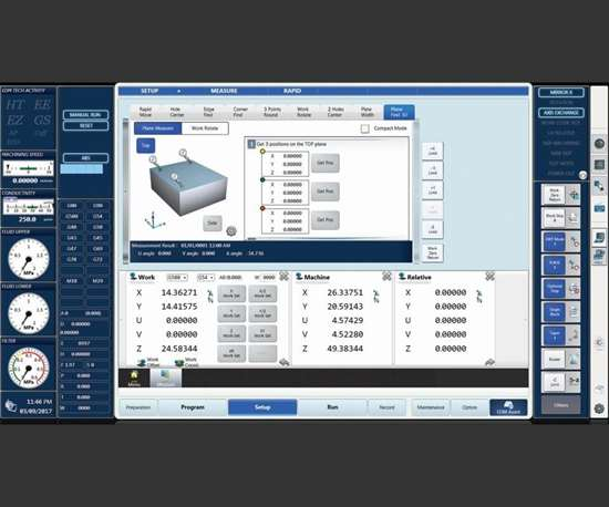 EDM machine probing routines