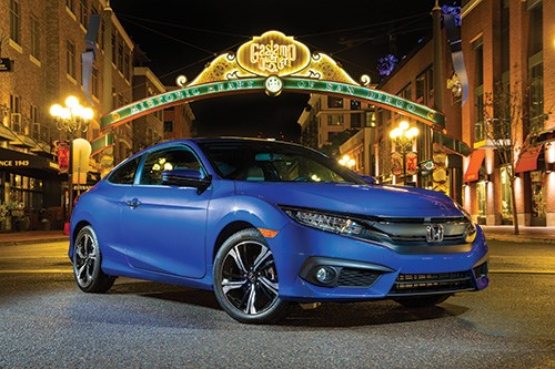 While most other OEMs have foregone the coupe body style for vehicles, Honda is sticking with it, as witnessed by this, the sixth-generation Civic Coupe. The first Civic Coupe appeared in the U.S. in model year 1993. In the subsequent years, nearly two-million have been sold.