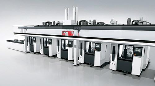DMG MORI i 50 horizontals facilitate fast, flexible and productive machining.