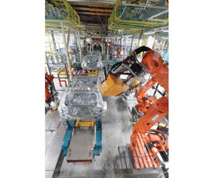 Valmet Automotive  has ordered more than 250 ABB robots for the production of Mercedes GLCs in Finland.