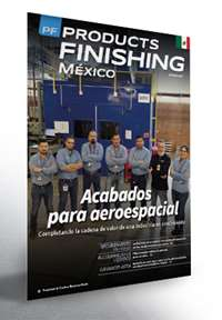 Abril Products Finishing México número de revista