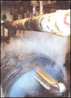 A steel coil