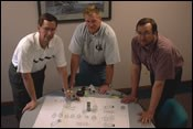 Donnelly Custom Manufacturing's engineering team