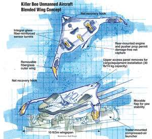 Killer Bee Unmanned Aircraft