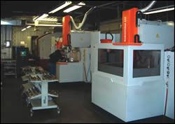 Injection Mold's EDM operators