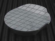 Gas permeable mold steel is available in rounds
