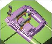 CAD/CAM integration and automatic mold design