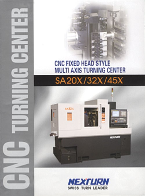 CNC turning center brochure