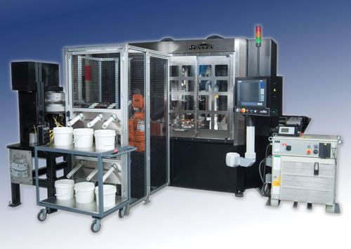 Automated hoing cell.