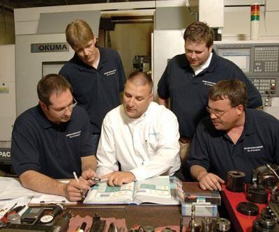 Warren Screw Machine employees