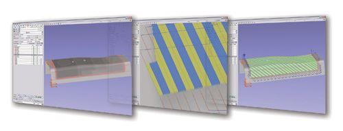 CGTech spar screen shot series