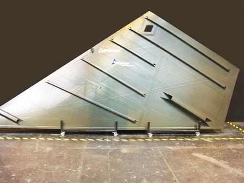 Boeing wingskin