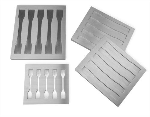 Fig 1 five-cavity molds