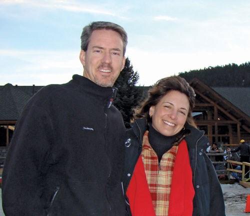 Jeff and wife mug shot