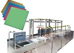 Automated titanium anodizing line