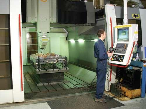 Five-axis machining