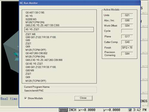 Graphical G-code finder