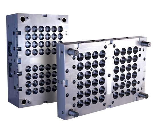 48-cavity, low-carbon, stainless mold base