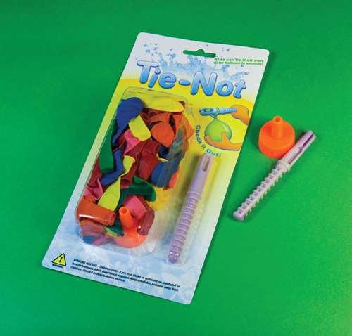 Tie-Not balloon tying device