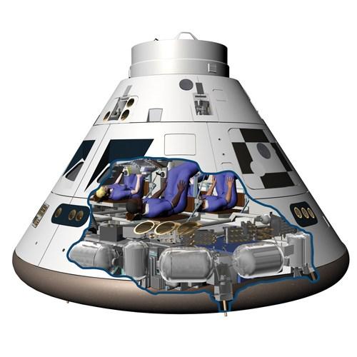 Orion Re Entry System Composites Displace Metal
