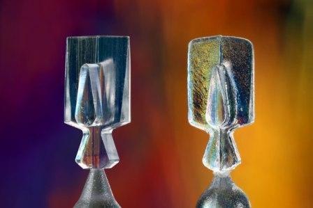 Micro EDM milling versus standard EDM.