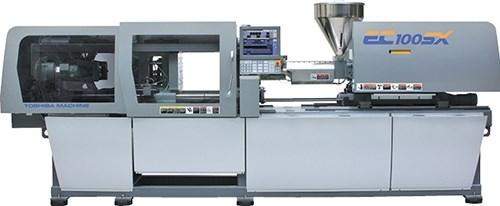 Toshiba EC-SX all-electric injection molding machine.