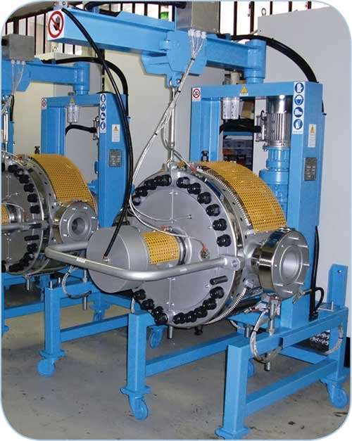 Fimic self-cleaning screen changer for recycling is supplied by ADG Solutions.